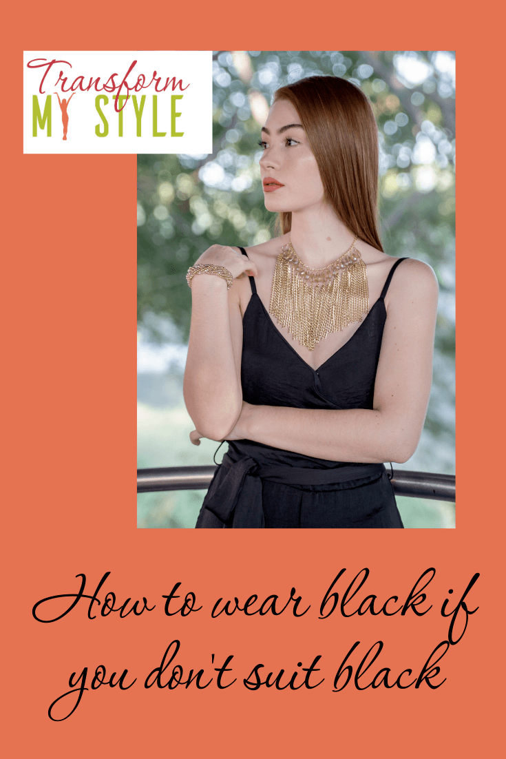 How to wear black if you don't suit black 5 tips